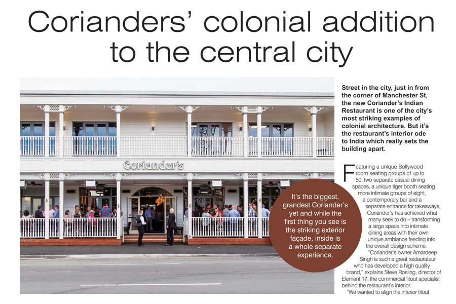 canterbury rebuild corianders