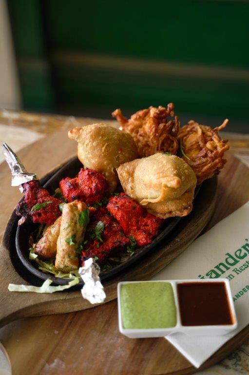 coriander's indian restaurant indian food