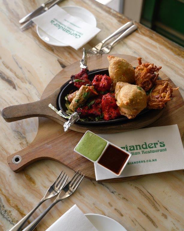 coriander's indian foods