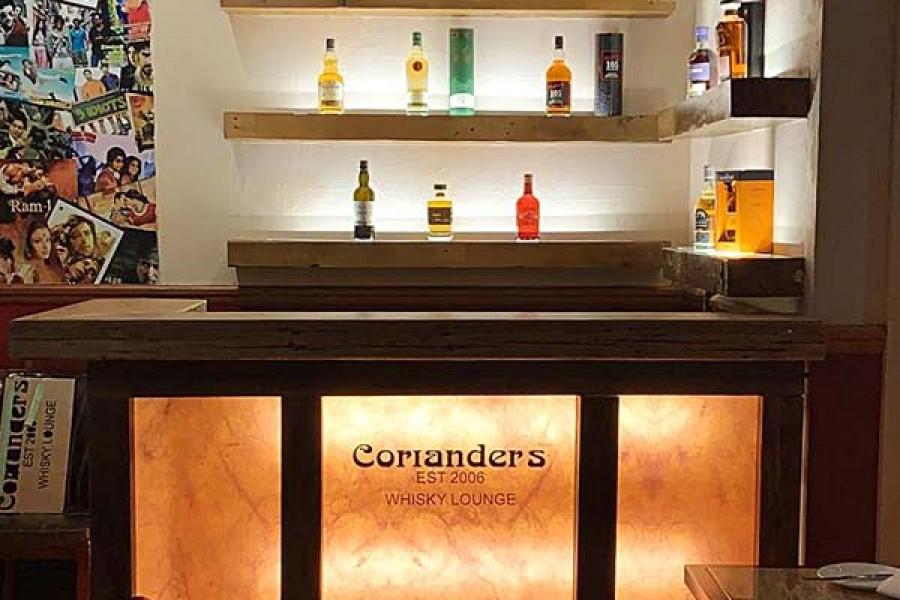 corianders whisky lounge