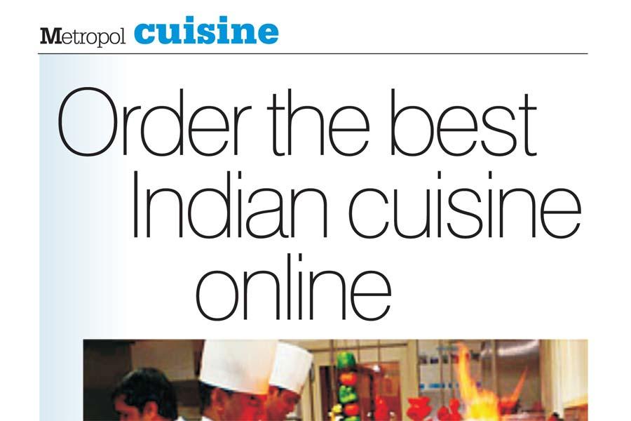metropol cuisine corianders online